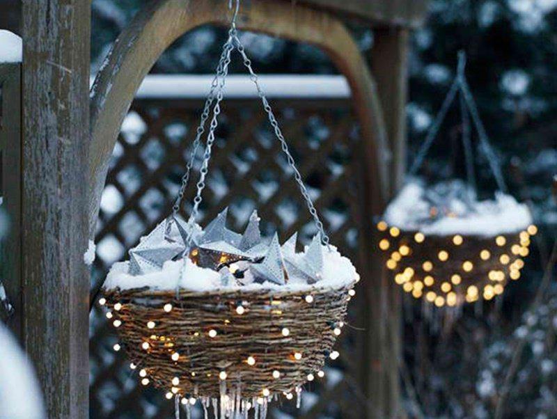 Natale 2015 raffinate tendenze il balestruccio - Decorazioni natalizie esterne ...